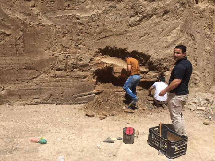 Шокирующая находка рабочих в Ираке гробница с...