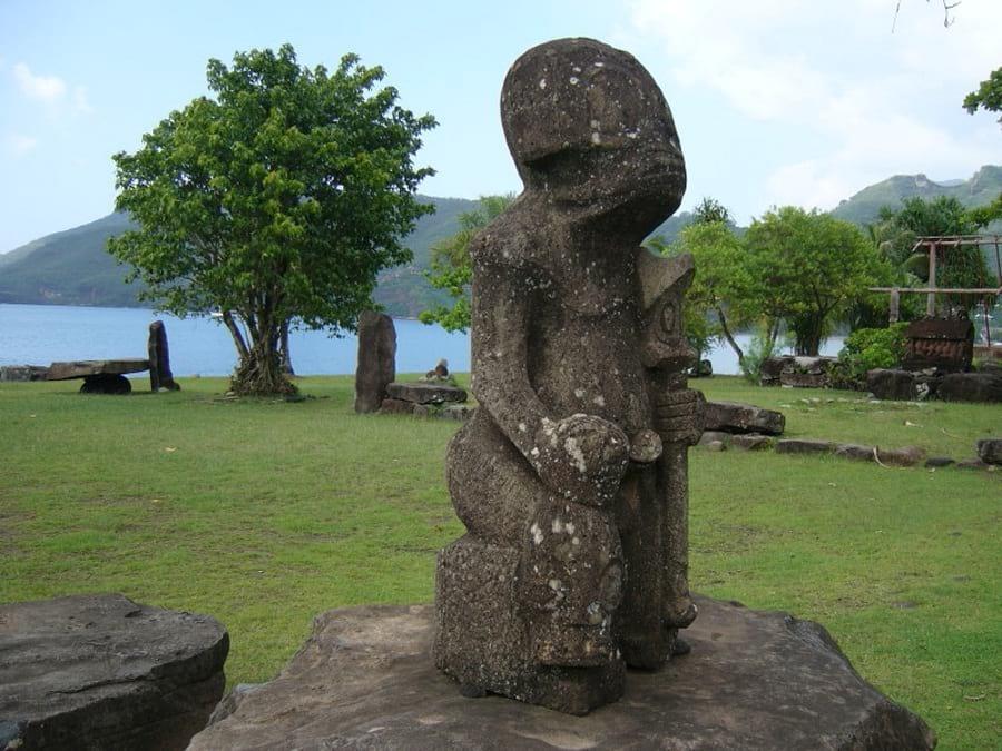 Следы аннунаков на островах Французской Полинезии