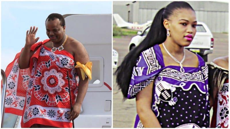 Как стать женой короля Свазиленда?  Фото 14 жён короля