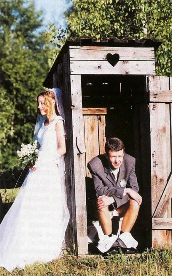 Свадебные приколы: только взгляните и долго будете смеяться!