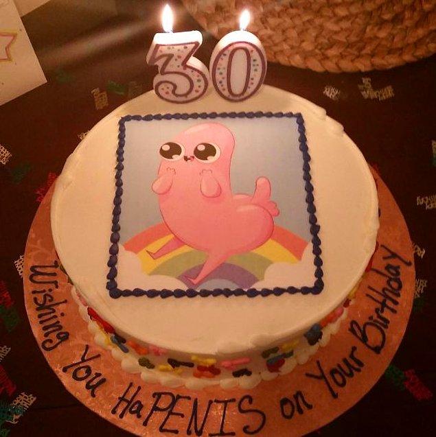 """""""Любящая жена заказала мне на день рождения такой торт"""""""