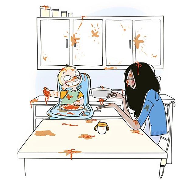 Ты и представить себе не могла, какой хаос в доме может посеять всего один малыш 😱