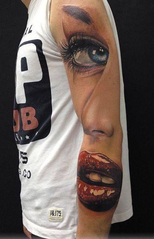 3D татуировки! Вы только посмотрите, они как живые!