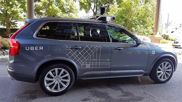 «Сегодня меня забрал самоуправляемый Uber» 👏