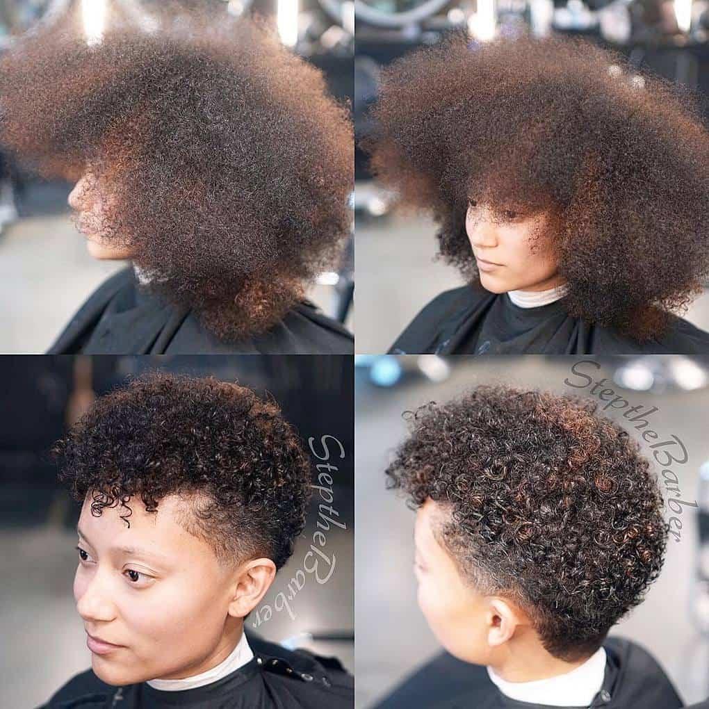 Статус про смену причёски