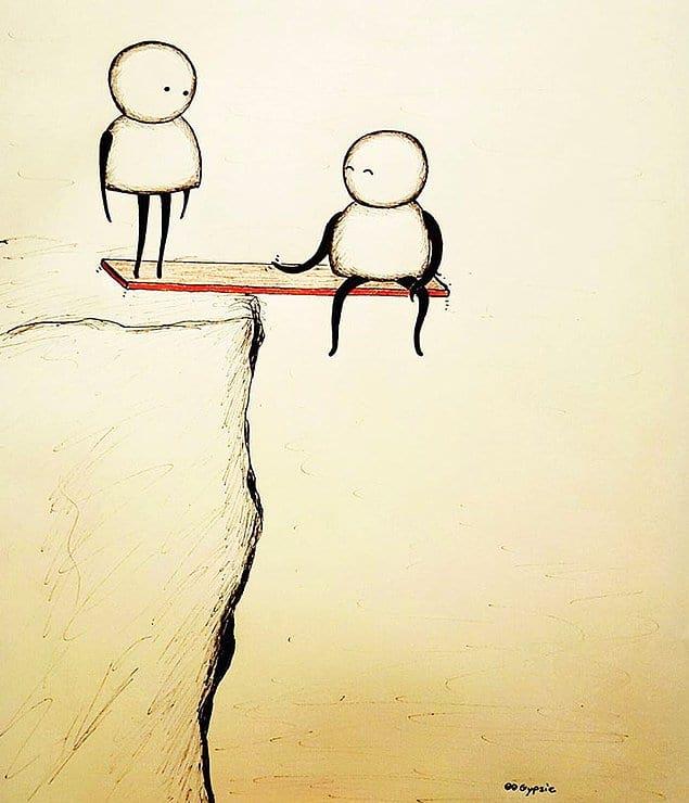 Иногда приблизиться к человеку и отдалиться от него может быть одинаково опасно. Готов ли ты оказаться в этой пропасти?