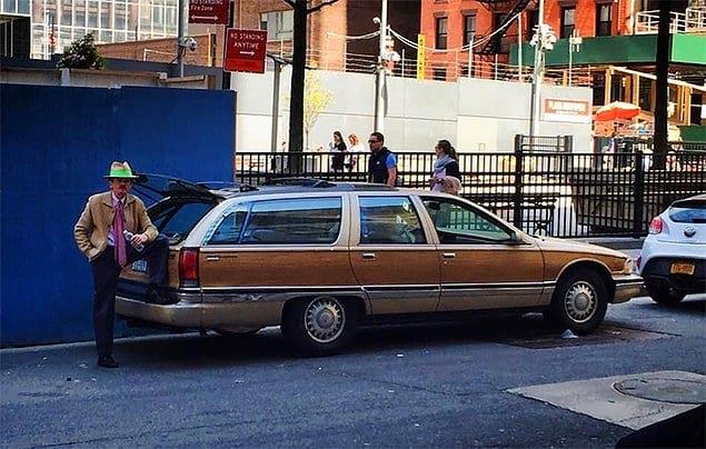 Когда заказал Uber на Манхэттене