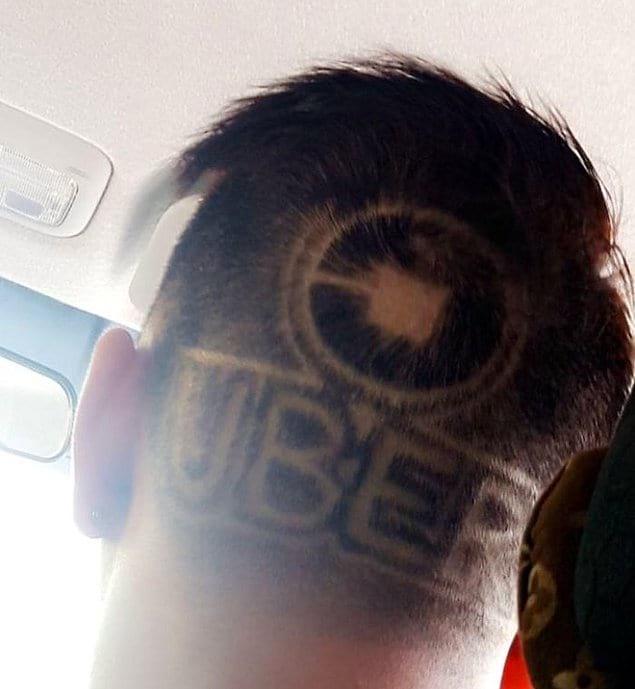На 100% преданный своему делу водитель Uber