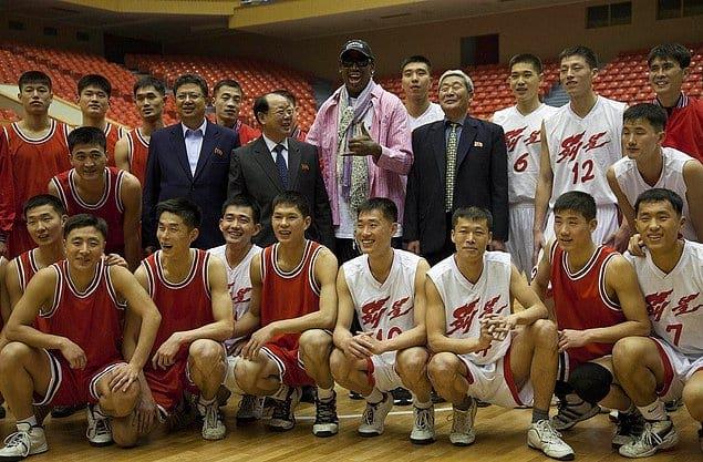 В Северной Корее в баскетболе свои правила