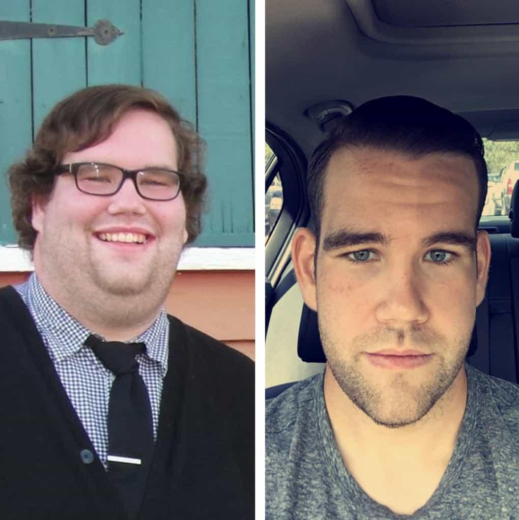 Как меняется лицо после похудения до и после