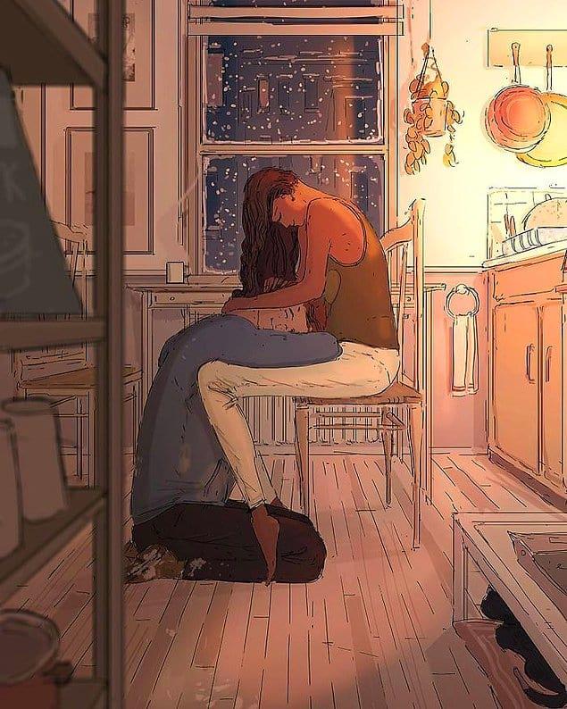 Получить утешение после тяжёлого дня