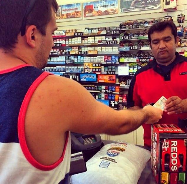 Даже если вам больше 30-ти, в магазине вас попросят предъявить ID.
