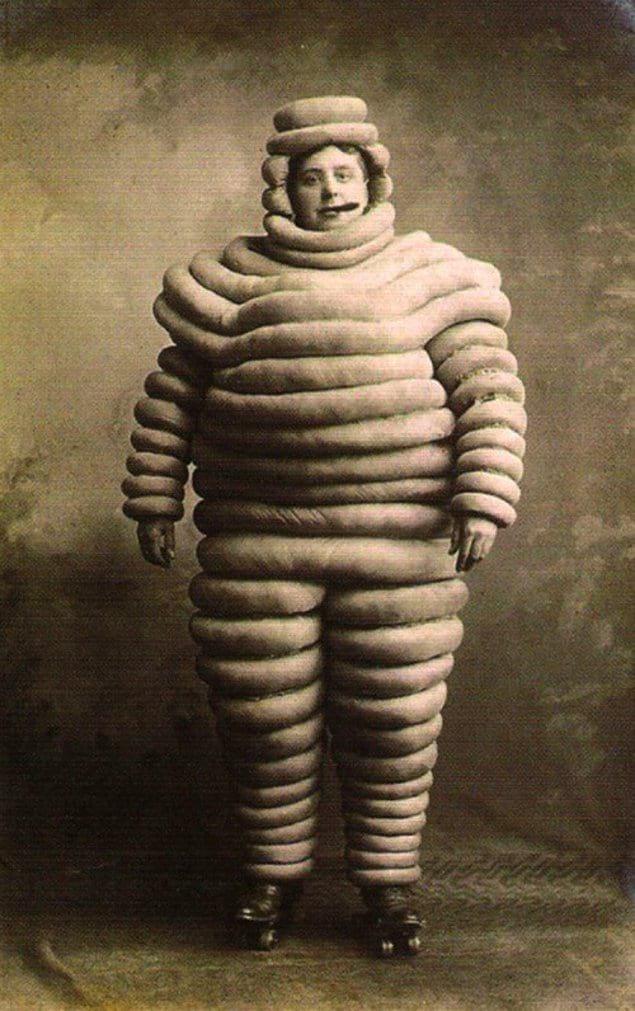 Первый человек из рекламы шин Michelin