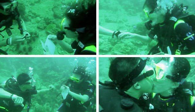 Под водой 😍