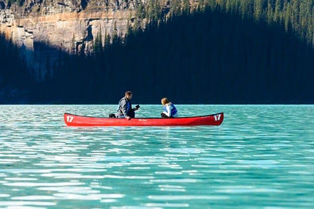 Прогулка на лодке по озеру с сюрпризом 😍