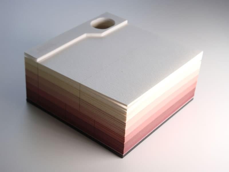 Японцы создали оригинальные отрывные блокноты, которые после использования совсем не хочется выбрасывать