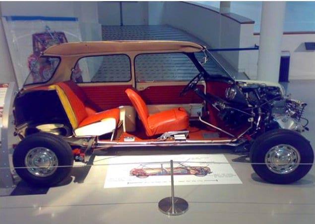 Автомобиль Mini Cooper