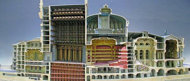 Масштабная модель Парижской оперы
