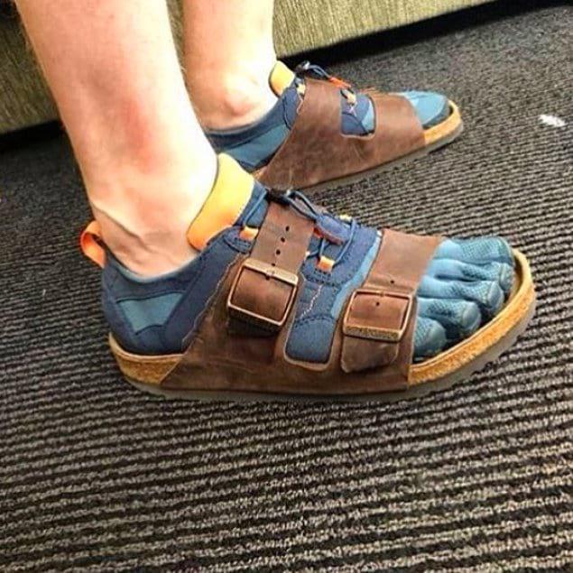 Модифицированные сандалии