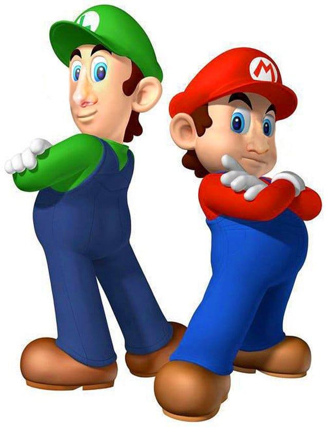 Вот так выглядят Марио и Луиджи с человеческими носами 😱
