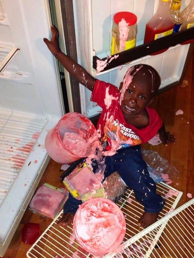 А ведь он хотел просто полакомиться мороженым