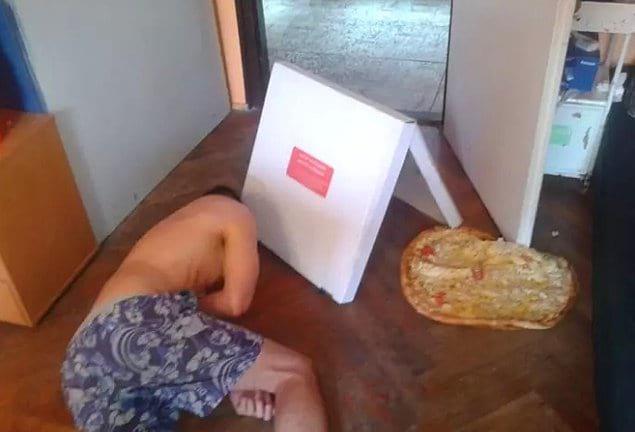 Бедная пицца 🍕 Она не заслуживает такого к себе обращения