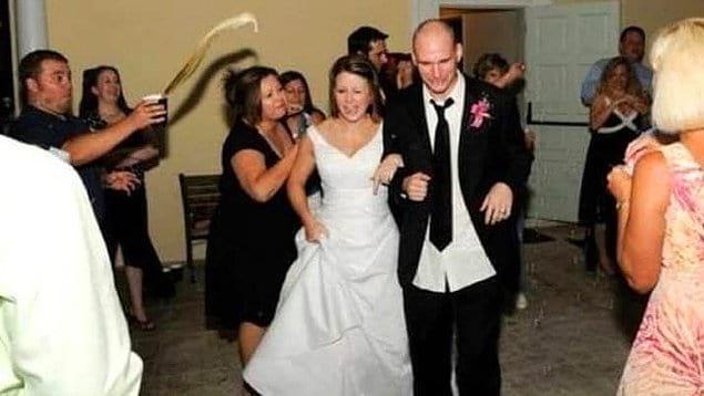 Эта свадьба точно запомнилась надолго