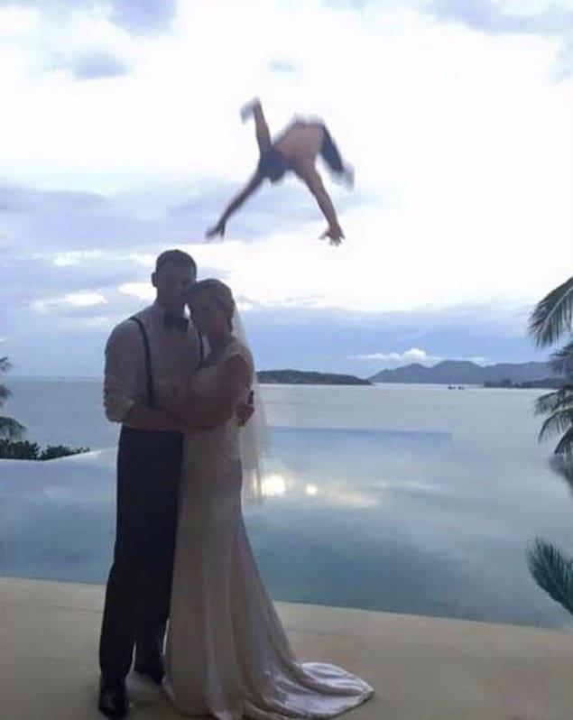 Незабываемая свадебная фотография