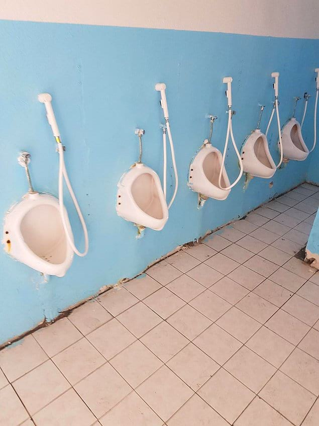 Душ и туалет - два в одном