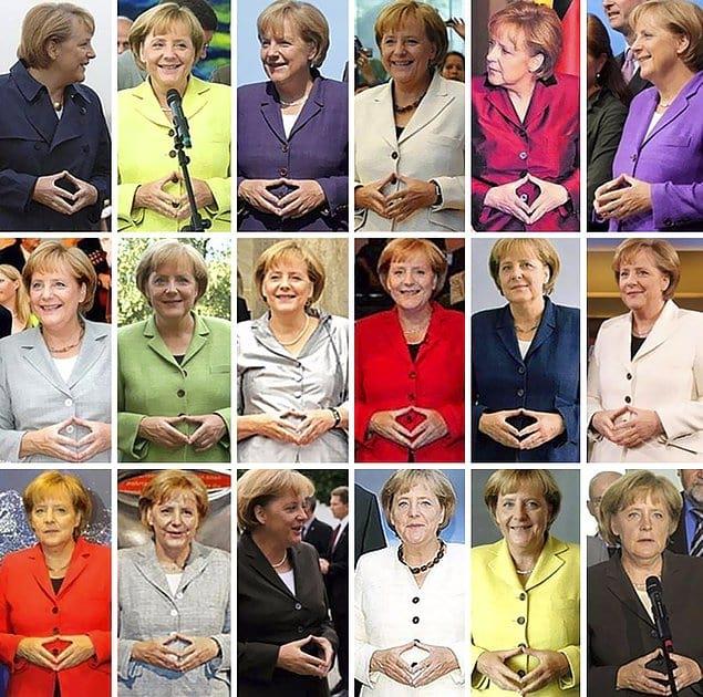 И только Меркель остается неизменной