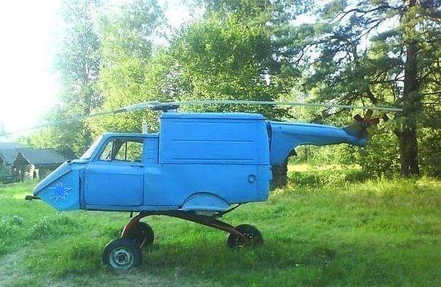 Однажды у каждого уважающего себя человека будет свой собственный вертолет