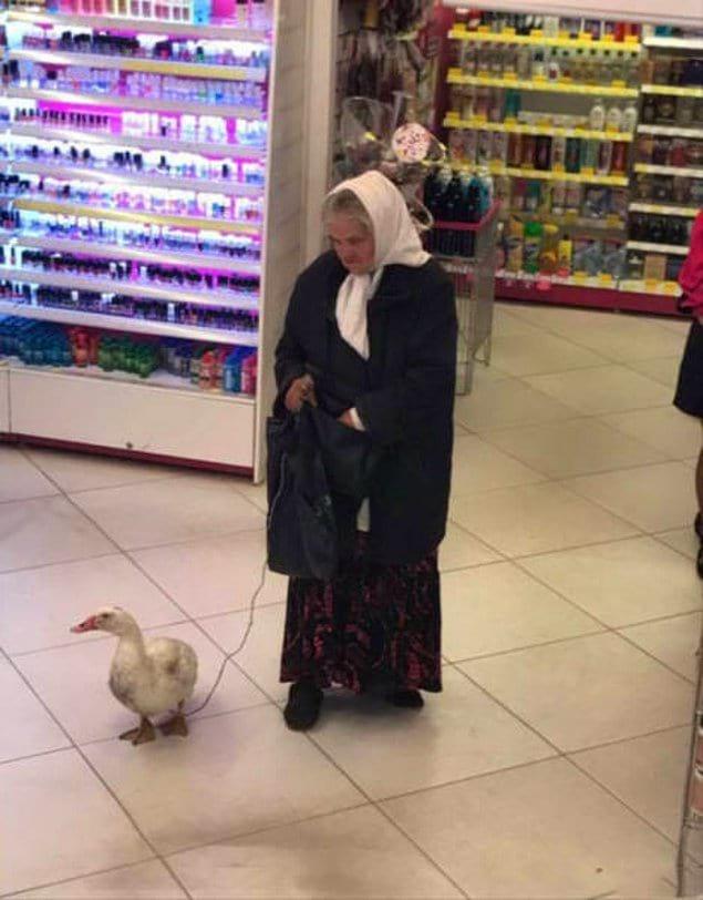 Оригинальности нашим бабушкам не занимать)