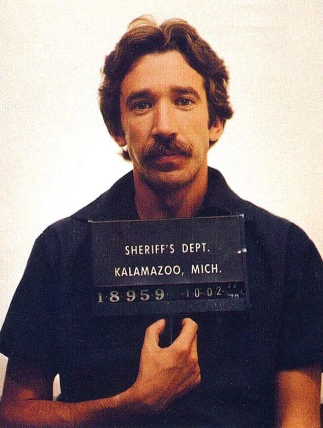 Тима Аллена арестовали в 1978 в аэропорту Мичигана за хранение почти 700 г кокаина