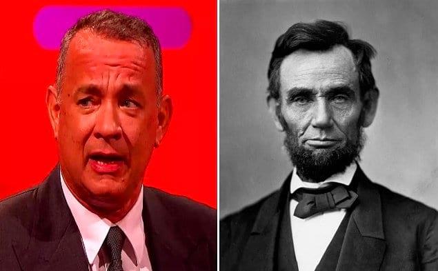 Том Хэнкс является потомком Авраама Линкольна
