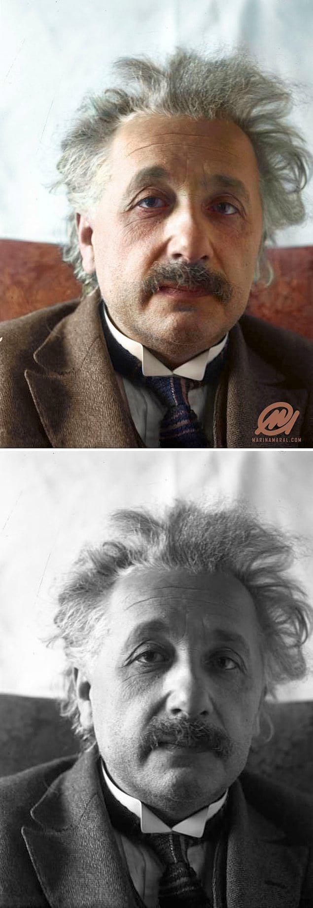 Альберт Эйнштейн, 1 марта 1921 года.