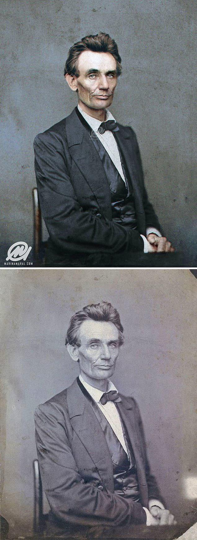 Авраам Линкольн, 1860 год.