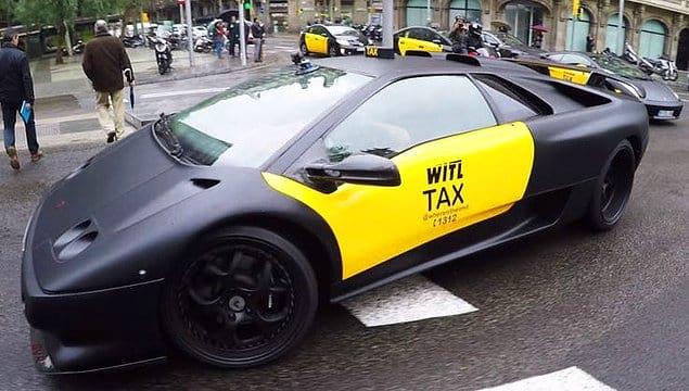 Бугатти-такси