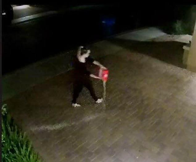 Эта женщина специально рассыпала рис из нескольких коробок на подъездной дорожке к чьему-то дому в час ночи. Вот почему лучше не пить кофе после семи вечера 😂
