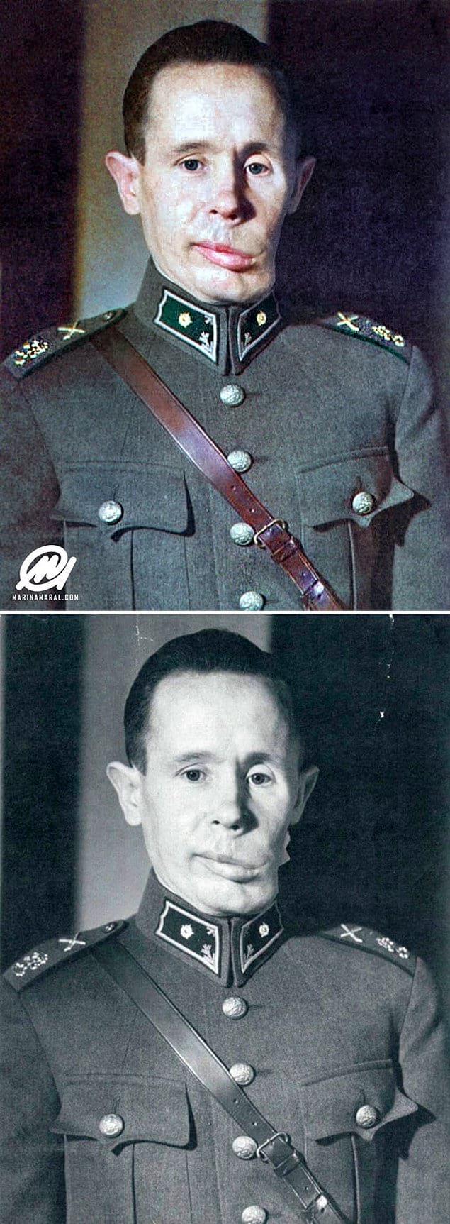 Финский снайпер Симо Хяюхя, по кличке Белая Смерть.