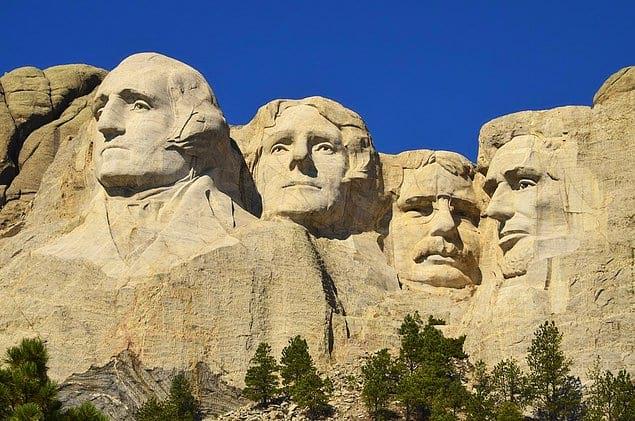 Гора Рашмор, Южная Дакота, США
