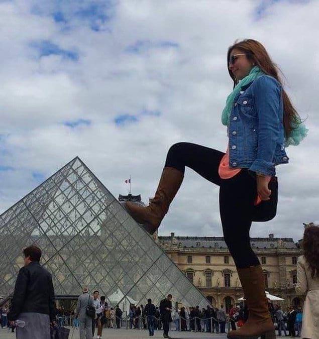 Когда фоткаться с пирамидами в Египте уже стало мейнстримом...