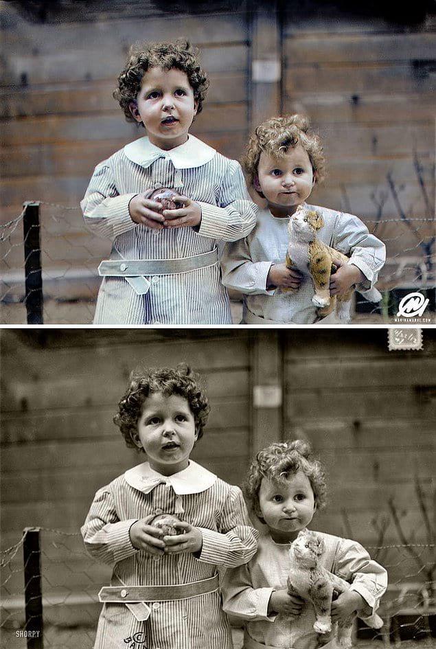 Мишель и Эдмон Навратиль - единственные дети, которых спасли после крушения Титаника.