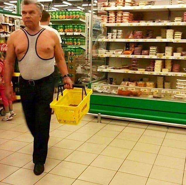 """Мужчина, наверное, из """"Модного приговора"""" сбежал"""