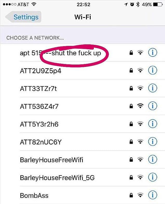 Пассивно-агрессивный сосед, который не любит пустой болтовни.