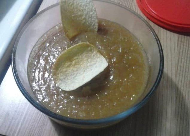 Соус для чипсов? Выглядит ужасно!