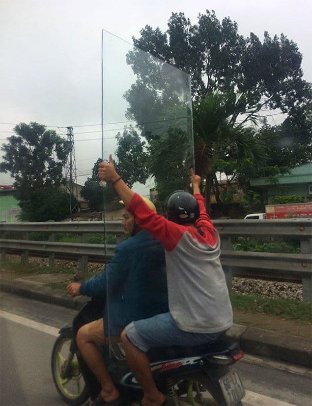 Такое можно увидеть только во Вьетнаме.