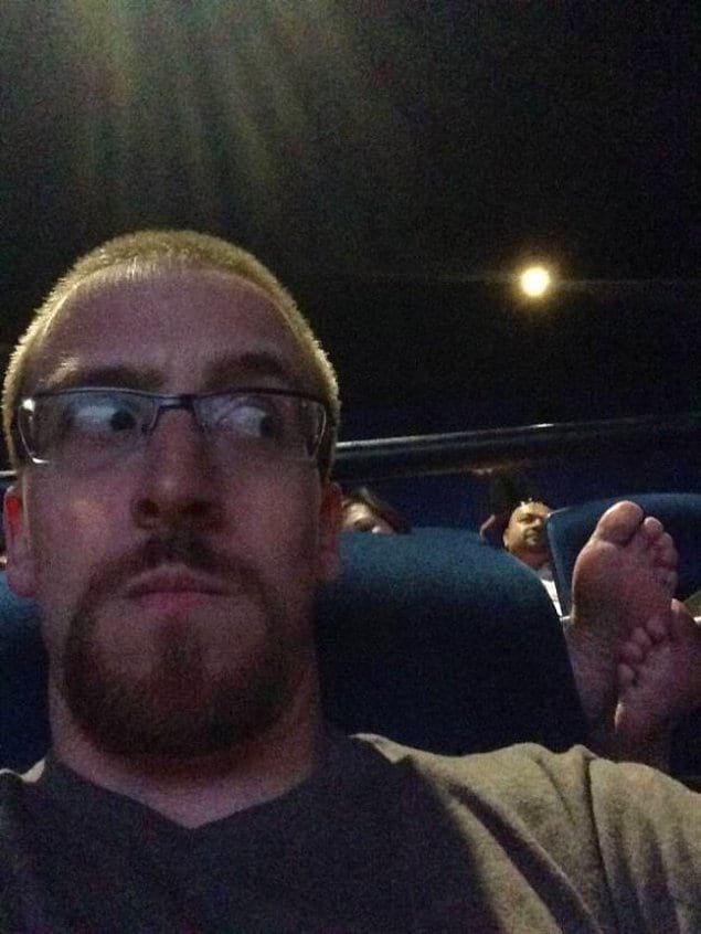 Замечательно в кино, считай, сходил