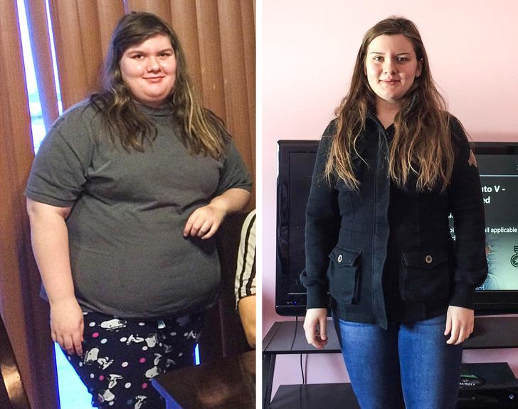 25 людей, которым не нравилось их отражение в зеркале и они взяли и похудели