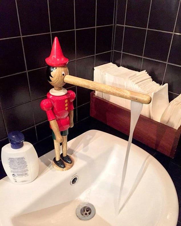 Бедный, бедный Пиноккио ?
