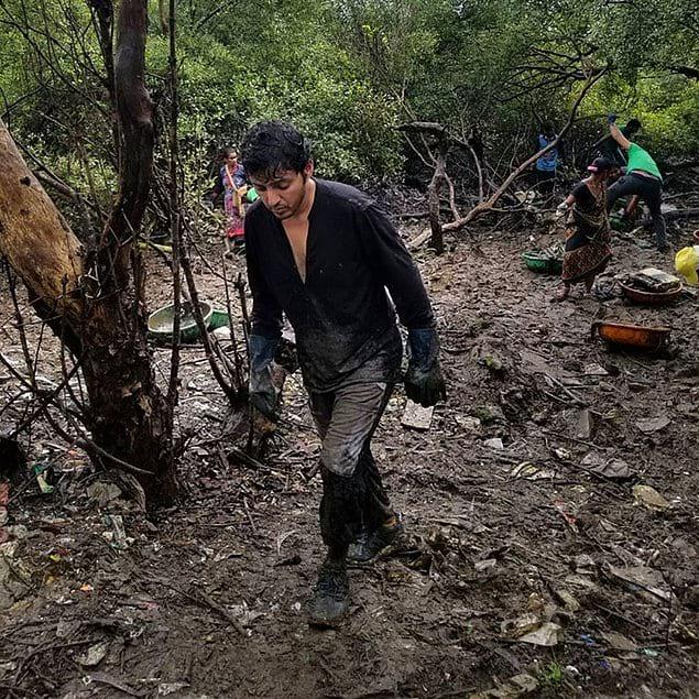 """""""Большую чистку"""" организовал молодой адвокат и защитник окружающей среды Афроз Шах"""